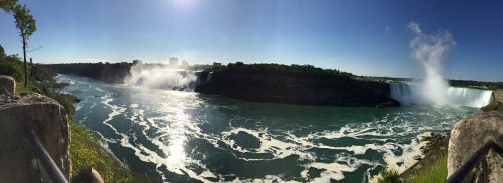 Horseshoe and American Falls