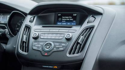 The Ford - Big Dash, LIttle Screen. Higher trim levels have a bigger screen. (photo credit - the internet)