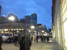 """Copley Square - Notice the """"17"""" on the Prudential Building..."""