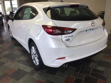 2017 Mazda3 Rear