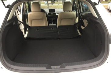 The Mazda - Roomy!