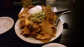 Nacho appetizer - caution, can be used as a full meal by two adults...